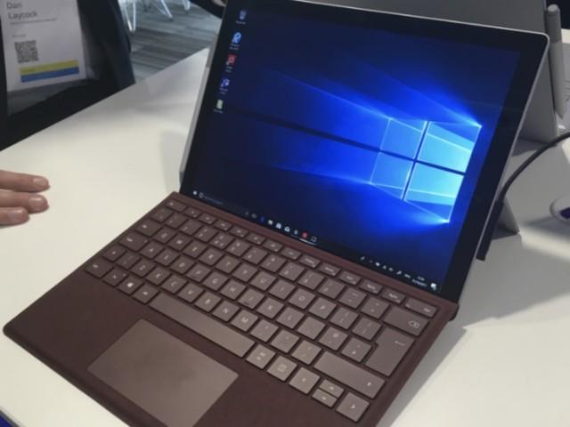 早報:支持4G!微軟正式發佈LTE版Surface Pro