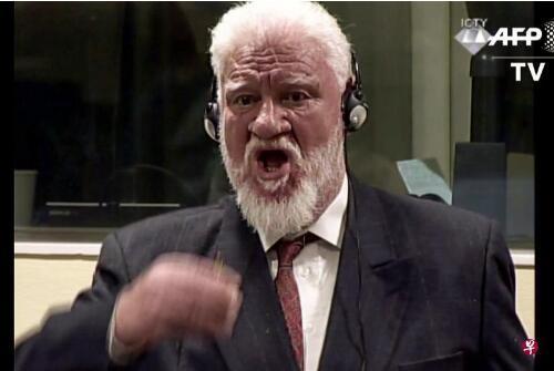 海牙法庭飲毒戰爭罪被告死於氰化鉀中毒 心髒瞬間衰竭
