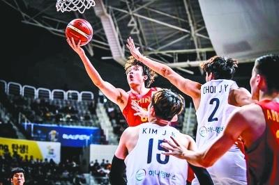 2連勝,中國男籃啃下硬骨頭