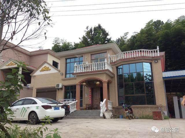 价格欧式露台12X10米,别墅别墅落地窗,建好30车库丰润农村图片