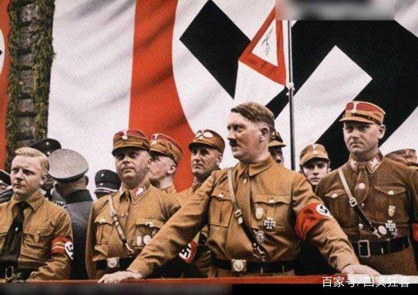 关于希特勒几个不为人知的表情,不抽烟,不喝酒秘密包清光的图片