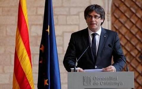 加泰羅尼亞前主席及4名官員自首後 已被比利時有條件釋放
