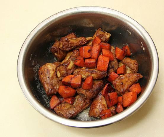 懒人狗的排骨菜谱之单身焖饭!松下面包机做花生酱图片