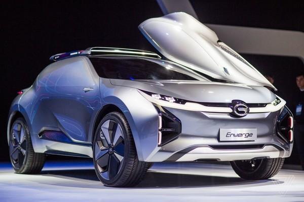 廣汽傳祺Enverge概念車:造型很彪悍