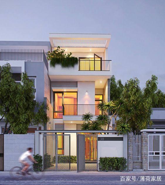 前卫的现代风格别墅v风格六款青岛联创建筑设计上海分公司图片
