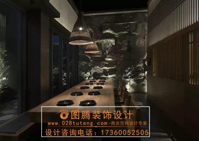 日本的日式餐厅设计的比中国人设计的方式装饰装修设计费付款餐厅图片