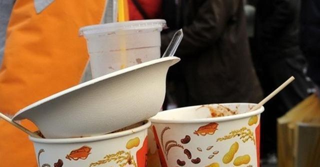 """""""共享餐盒""""即將出世?外賣餐具環保困局 想說破解不容易!快看"""