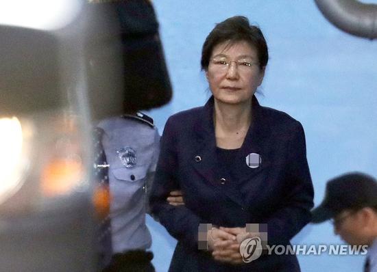 外媒:韓法院稱樸槿惠承認為黑名單事件共謀
