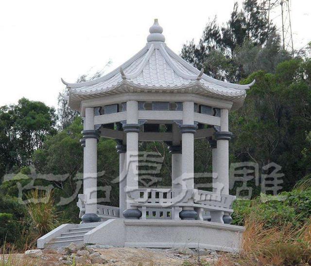shidiaocn与您共同聊外观风水的石雕讲究凉亭图片西方别墅图片