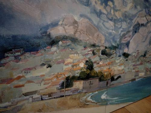 當畫麵之氣接通自然之氣,宋齊鳴教授畫的青島嶗山活了