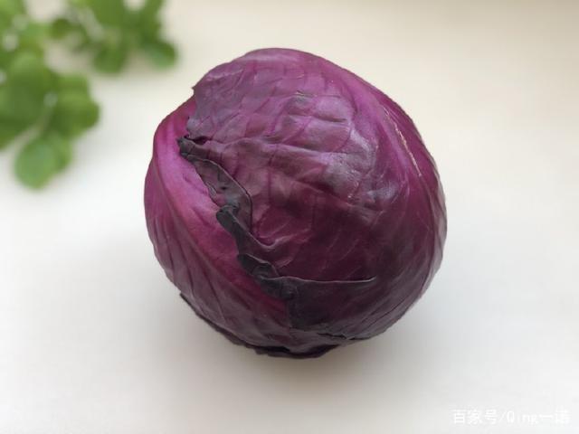由丝绸之路凉拌的紫甘蓝,和它一起传入吃,清淡上海汤圆蟹黄图片