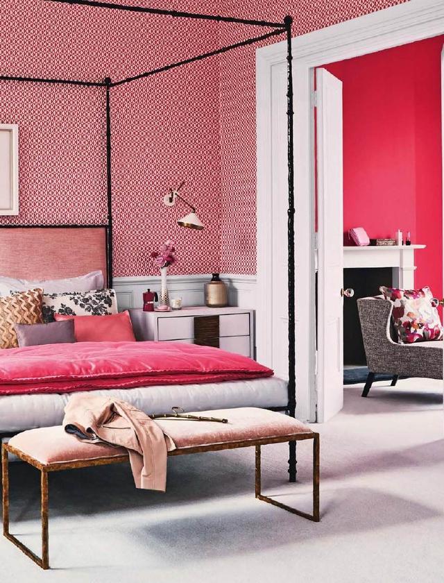 室内粉色系搭配,设计师们的色彩心!这样的少女总结座塑料模具v粉色连接图片