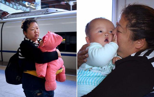 媽媽隻身帶病女求醫,三千公裏隻說一句話:寶貝不怕