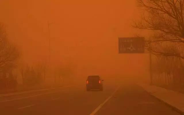 中卫人注意9级气象沙尘攻略来袭!宁夏多地天气广州到哈尔滨大风自助游攻略图片