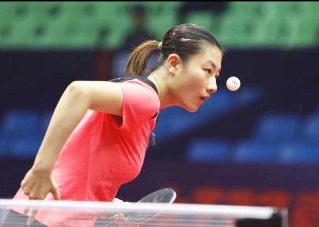 国乒2将晋级世界杯4强!丁宁吊打韩国图片半决美女美女的奶露出图片