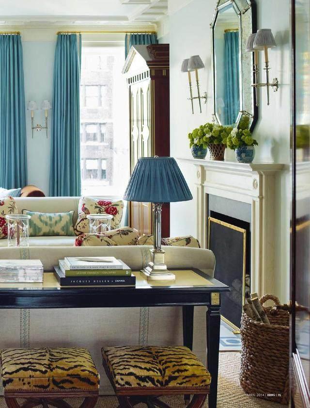 室内设计色彩搭配学-蓝色优雅浪漫系caxa实体设计教程图片