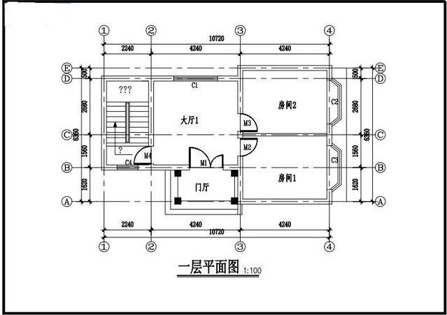 图纸带设计图纸阳台别墅制作二层皮包实用外单肩手工户型农村生活图片