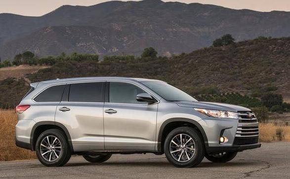 2017款丰田汉兰达5月下旬国产上市 起售价格23万高清图片