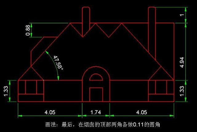 干货!新人讲解必练的CAD打开图(内附步骤练习天正cad后入门v干货无图片