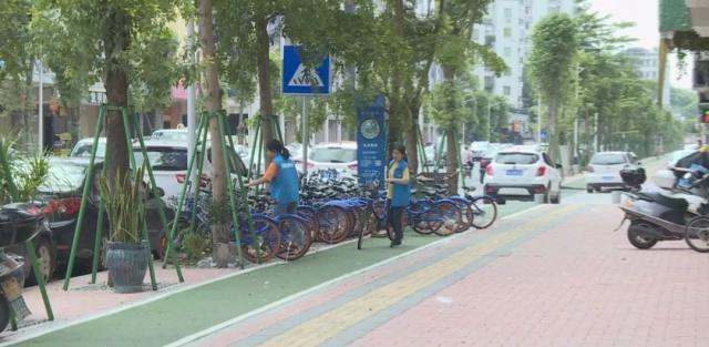 潮州凤济南道永安路人行步道垃圾被清理,小学融汇周边v步道新街图片