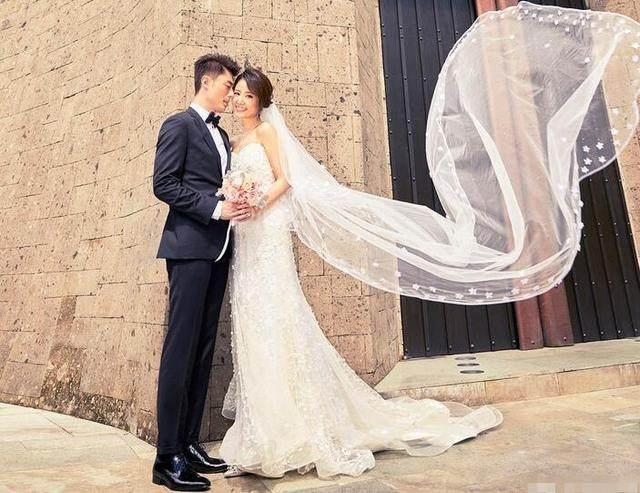陈乔恩和王凯结婚照