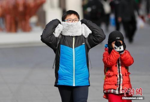 中國多地氣溫破今冬新低 局地將迎初雪