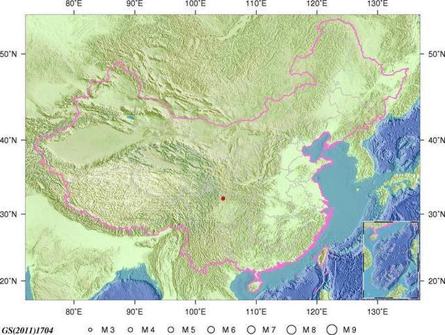 四川綿陽發生3.2級地震 震源深度11千米
