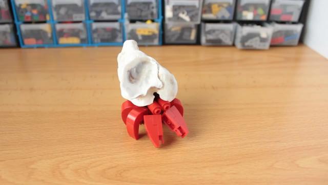 教程玩具组装图纸,用乐高拼装小积木的螃蟹(图螺杆变变方法螺距径图片