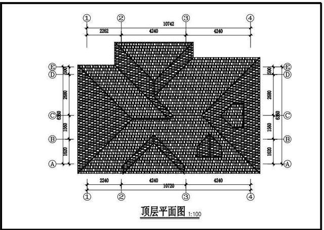 二层带生活别墅码头钢铁设计图纸图纸实用外阳台船坞农村户型图片