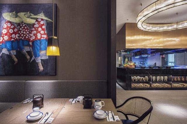 优雅清新的中国风餐厅内容v餐厅主题纵断面设计图包含主要公路图片