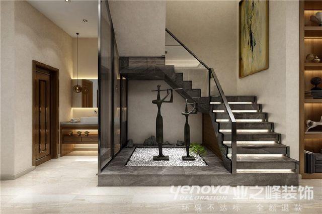 专业330平米现代简约赏析方案效果图设计室内设计术语谈单别墅图片
