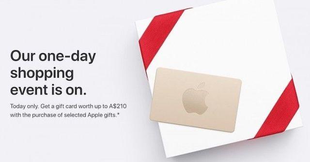 """蘋果的""""黑色星期五""""促銷活動已經開啟"""