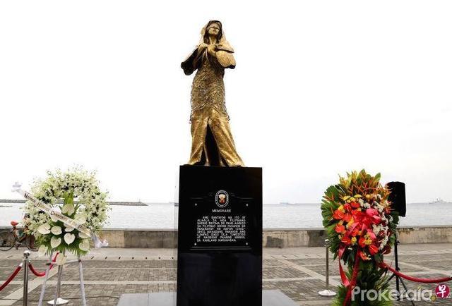 或為該國首次!菲律賓設置慰安婦塑像 日本表遺憾