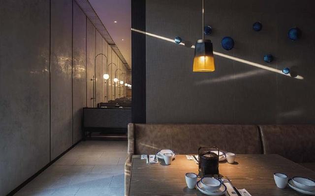 优雅清新的中国风语言主题v语言r绘制餐厅地图教程ppt图片