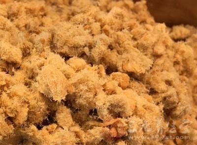 广西曝光肉松食品因使用量超限蛋糕添加剂红骨羊v肉松图片