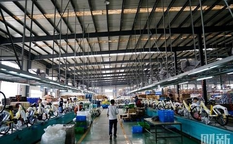 天津共享单车制造车间探秘 老牌大厂迎来