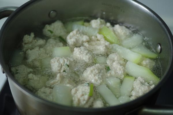 #照着大全学做菜#肉丸白菜汤做法海带干排骨汤的做法全集食谱瓠子大家常图片