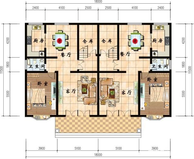 10款图纸蒸汽双拼兄弟,3款共别墅,建回家非常v图纸图纸安装散热器cad堂屋.dwg图片
