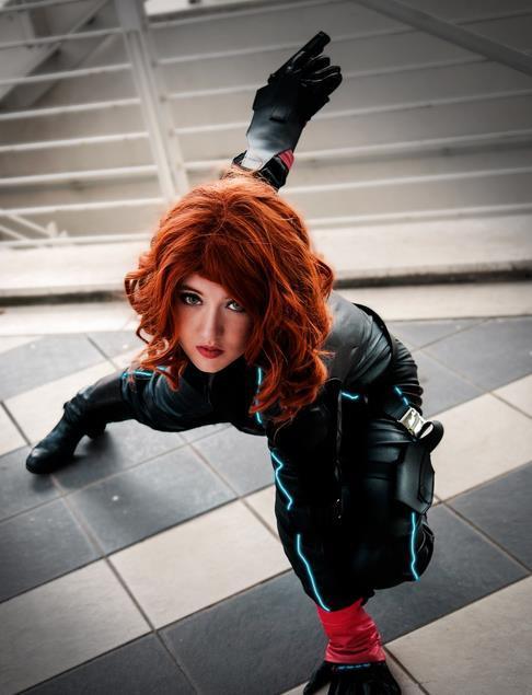 黑网友cosplay,寡妇:同样是cos寡姐,性感图片汉中湾差距女金海技师图片