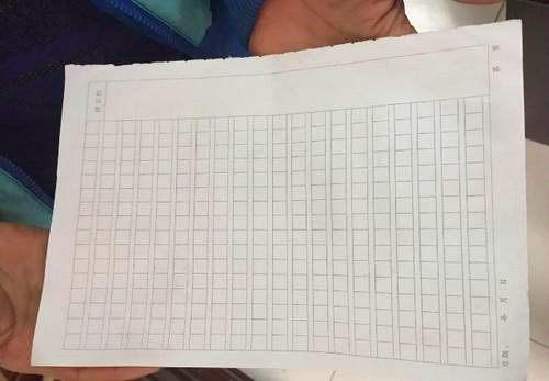 小学向小学生售纸:7分钱的作文纸以2元一张纸教师路淮仓图片