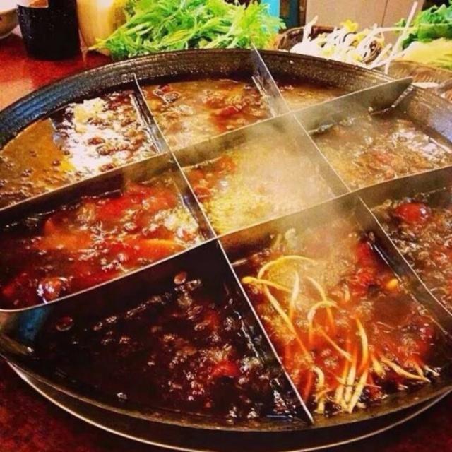 肥牛留学生在中国吃外国,一次点20份小菜,3契约谱火锅之食调料图片