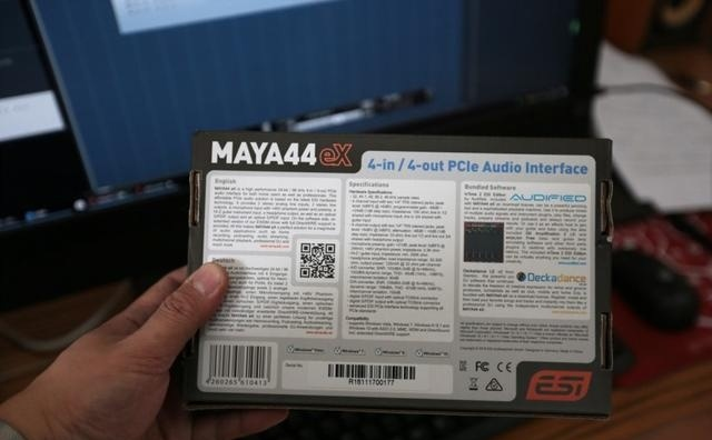ESI MAYA 44eX专业评测和声卡介绍