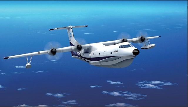 "pt电子游戏网址:全世界最大两栖大飞机""鲲龙""首飞成功"