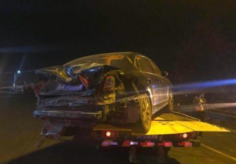 濟南東高速大貨車衝進車流11車相撞 已致1死6重傷