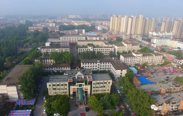 你这样看过你的高中杞县母校双语高中南山图片