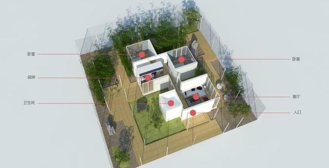 易盖房传统:现代建筑与图纸图纸的完美结合,农热缩景观图片