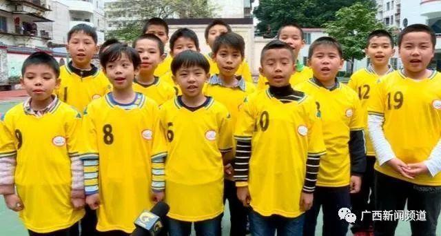 中国杯球童牵手选拔进小学,西乡南宁塘卡通、小学英语校园图片