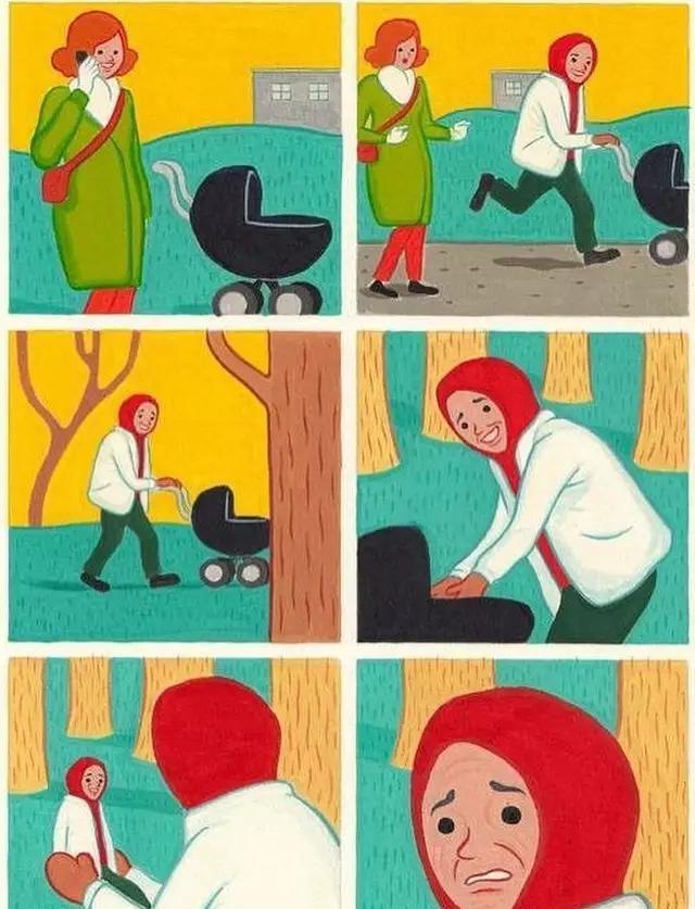 12张极具深思寓意的漫画,一笑之后的讽刺!中腾讯漫画图片