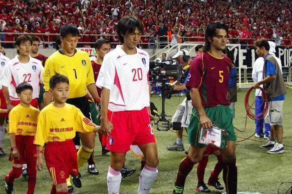 2002年世界杯韩国队打进四强创造亚洲历史, 你