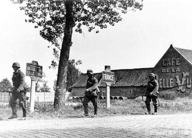 二战时法国仍有较强实力,为何要选择向德国投
